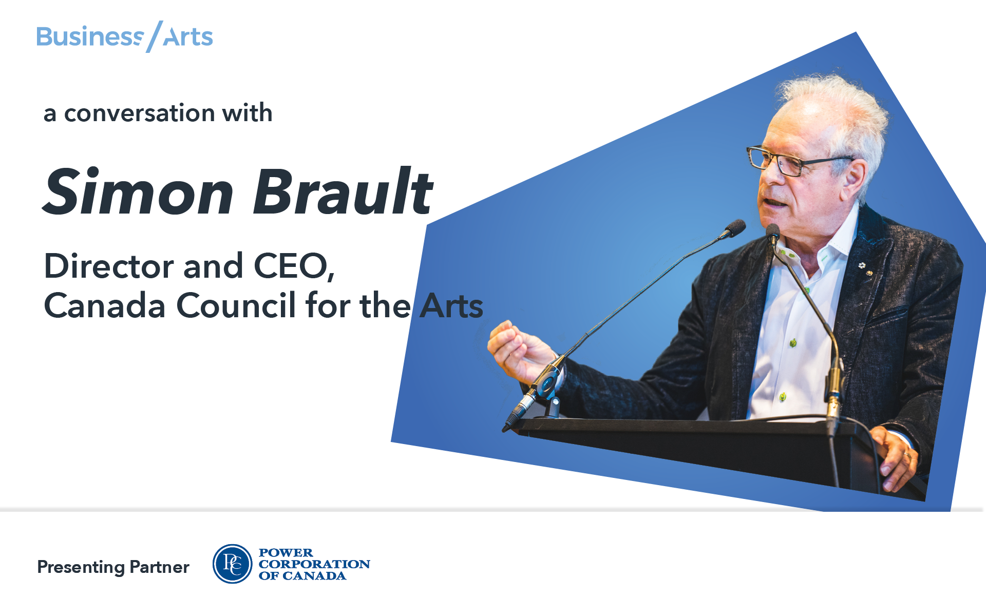 Simon Brault, Canada Council for the Arts