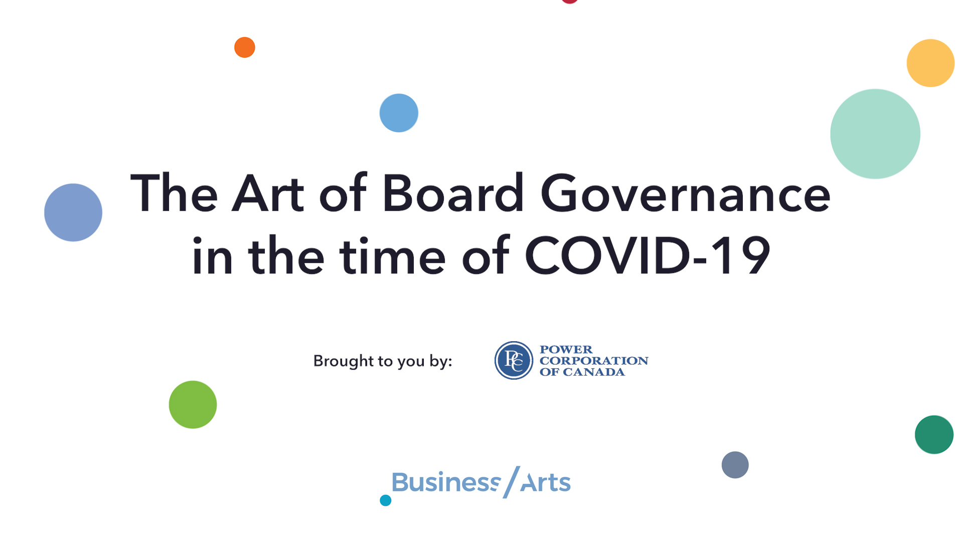 The Art of Board Governance during COVID-19