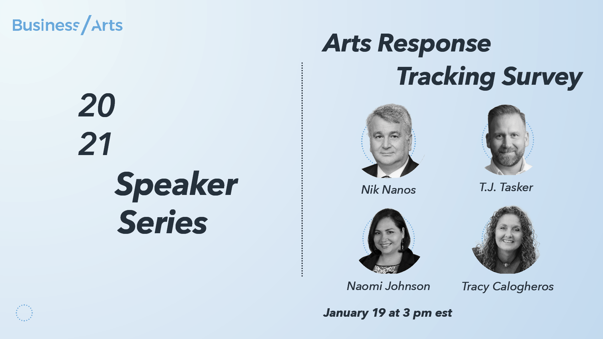Arts Response Tracking Survey (January 2021)