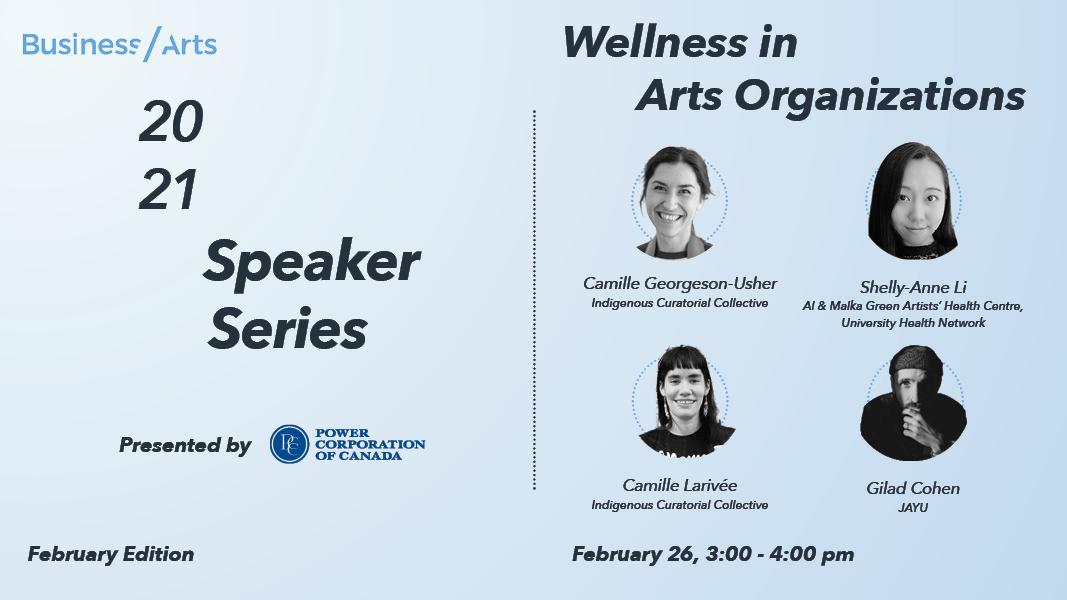 Wellness in Arts Organizations